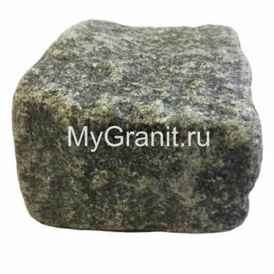 Брусчатка гранитная колото / галтованная (Габбро, Украина)